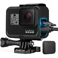 Sametop - Custodia con montaggio a telaio compatibile con fotocamere GoPro Hero 7 Black, 7 Silver, 7 White, Hero 6 Black…