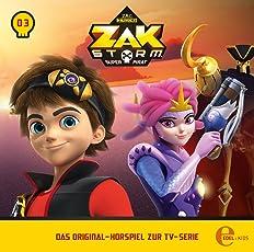 Zak Storm - Folge 3: Das Eisdrachenbaby - Das Original-Hörspiel zur TV-Serie