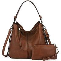 Realer Handtasche Damen Shopper Tasche Tote Leder Umhängetasche Groß Schultertasche Frau Elegant Henkeltasche mit…