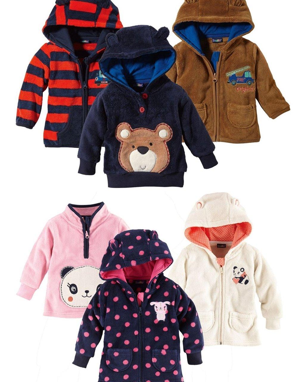 lupilu Baby Jungen und Mädchen Teddyjacke / -Pullover