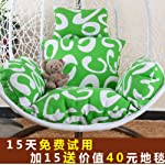 Hanging Egg Hammock Chair Cushions,Multicolor Thicken Swing Seat Cushion Nest Hanging Chair Back With Pillow Without Chair