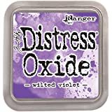 Ranger Tim Holtz Distress Oxide Pad-Wilted Violet, Synthetic Material, Purple, 7.5 x 7.5 x 1.9 cm