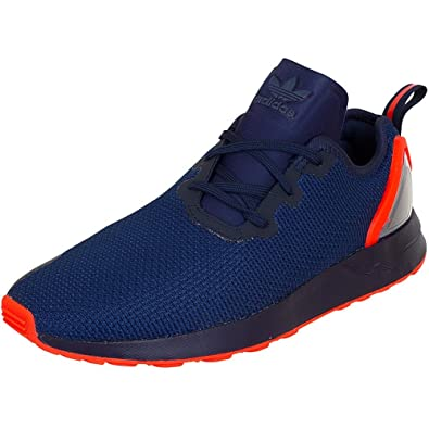 Adidas Zx Flux Blue And Red
