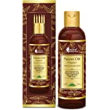 Oriental Botanics Organic Neem Oil for Hair and Skin Care - With Comb Applicator - Pure Oil with No Mineral Oil, Silicones, 2