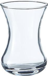 Paşabahçe Incebelli Çay Bardağı, Sade, 125 ml, 6 Parça
