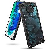 Ringke Fusion-X Compatibel met Xiaomi Redmi K30 Pro, Poco F2 Pro Case, Krasvast Schokbestendig Robuuste Bumper Hoesje - Camo