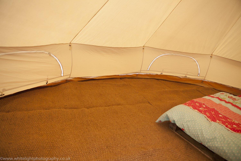 Bell Tent Coir Semi Circle Mat 2