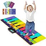 Joyjoz Enfant Tapis Musical Aves 100+ Sons, Tapis Piano 4 Modes, Tapis de Dance pour Enfant Instrument Tapis Musique et d'Éve