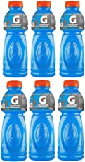 Gatorade Sports Drink, Blue Bolt, 500ml Each (Pack of 6)