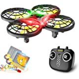 Loolinn | Dron para Niños - Mini Drone con Tecnología Anti-Colisión Automática / Acrobacias con Giro de 360° / Tiempo de Vuel