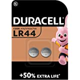 Duracell Specialty LR44 alkaline knoopcel 1,5 V, verpakking van 2 (76A/A76/V13GA)