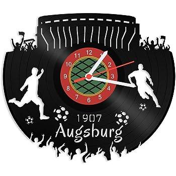 Duisburg Fan Schallplattenuhr