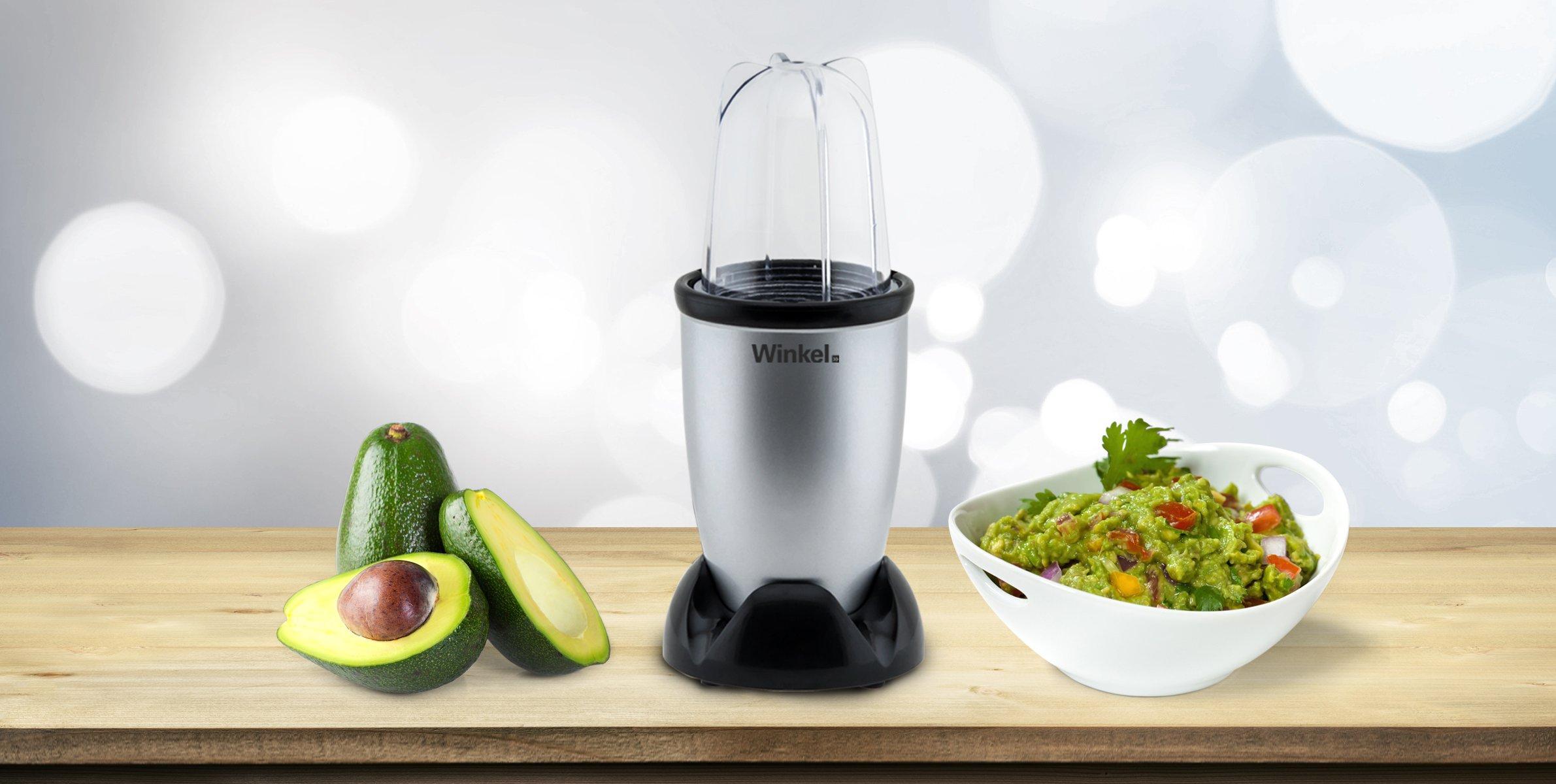 Winkel-KBL20-Kitchen-Bullet-Kchenmaschine-8-Funktionen-Edelstahlklingen
