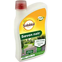 SOLABIOL SOSAV1 Savon Noir Concentré | 100% Origine Végétale, 1L