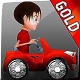 Kinderspielzeug Autorennen: der Kinder-Cupcake-Rennen - Gold Edition