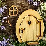 Snakell Wooden Door Narnia Door,Three-dimensional Assembly Kit Door Craft Wooden,Holztür Narnia Tür Dreidimensionaler Bausatz