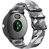 FINTIE Rem kompatibel med Garmin Vivoactive 3 musik/Vivoactive 3/Venu/Vivomove HR/Luxe/Style/Forerunner 245/645 musik smartwa