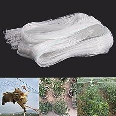 ARMOR Anti-Bird Net High Quality UV-Stabilized HDPE Nylon Bird Net(White)