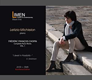 Chopin - Complete Piano Works VOL. 1 (2CD+DVD) - Letizia Michielon