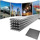 Laagtemperatuur aluminium lasdraad, Al-soldeerstaaf voor reparatie No Need Soldeerpoeder - 10 stuks 2,0 mm 50 cm.