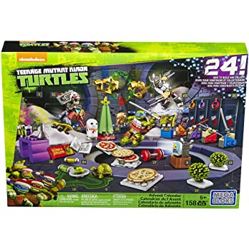 Mega Bloks TMNT Toy - Teenage Mutant Ninja Turtles Xmas Advent ...
