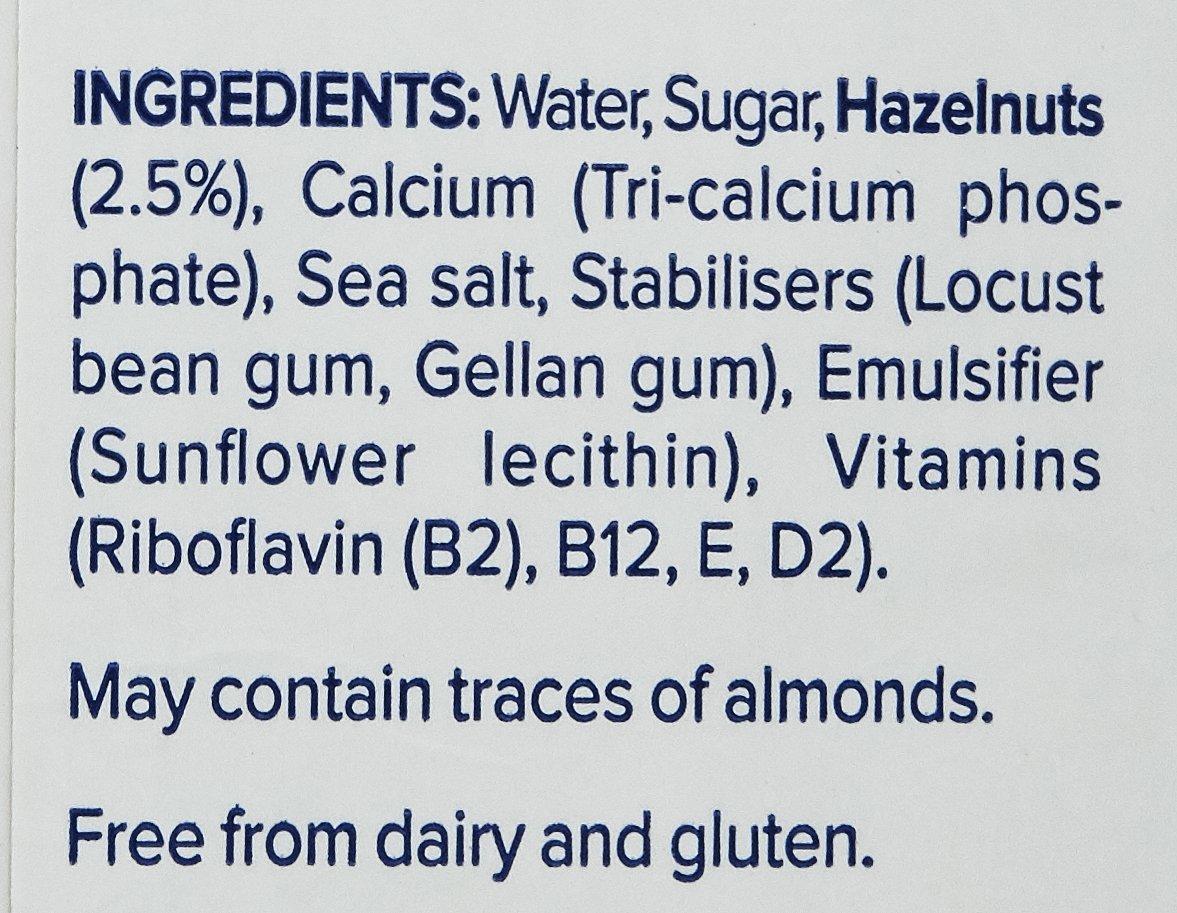 Alpro Hazelnut Original Milk, 1L 3