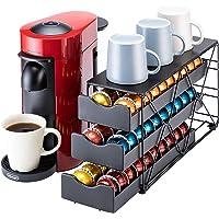 Bagoo Support pour capsules de café Nespresso Vertuoline à 3 niveaux