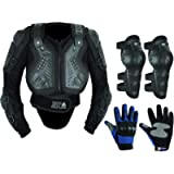 Childrens Kids Motorbike Safety Protective Body Armour Protection With Back Protector Great For Sporting Activities With…