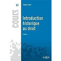 Introduction historique au droit - 5e ed.