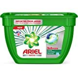 Ariel Matic 3in1 PODs Liquid Detergent Pack 18 Count for Both Front Load and Top Load Washing Machines (18N*19.85g)