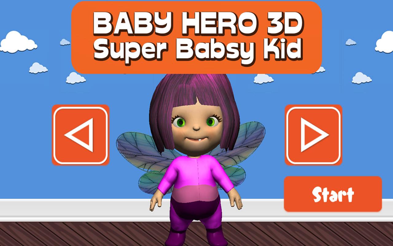 Zoom IMG-3 baby hero 3d super babsy