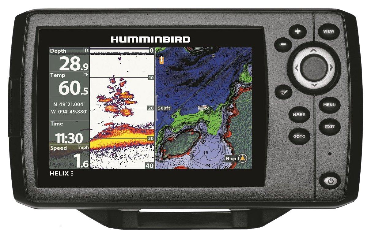 Humminbird 410210-1 HELIX 5 CHIRP GPS G2 Fish finder 1