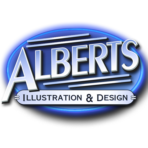 Alberts Illustration & Design Albert Von Apple