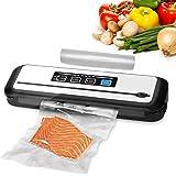 Inkbird Vacuüm Sealer Keuken Apparaat INK-VS01,Automatische Vacumeermachine voor Voedselbewaring, Droge en Vochtige Seal Stan