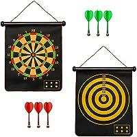 OUTAD Magnetisch Dartscheibe Kinder Dart Wurf Spiel Doppelseitige Dartboard Dartspiel Set Sicherheit für Kinder…