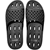 Womens Mens Anti-Slip Slippers Quick-Drying Bathroom Shower Slippers Massage Slippers Casual Comfortable Pool Beach Slides Su