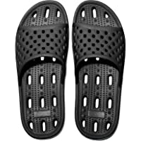 Womens Mens Anti-Slip Slippers Quick-Drying Bathroom Shower Slippers Massage Slippers Casual Comfortable Pool Beach…