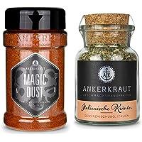 Ankerkraut Magic Dust, 230g im Streuer, BBQ-Rub Grillmarinade, Gewürzmischung zum Zubereiten von Fleisch & Italienische…