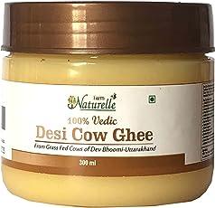 Farm Naturelle-100% Pure Desi Cow Ghee from A2 Milk (300Ml)-Vedic Method