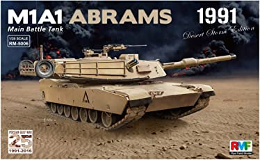 "Rye Field Model RM 5006–Modellino M1A1Abrams Gulf War 1991"""
