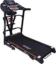 Fitkit FT100 Series (3.25 HP Peak) Motorized Treadmill with Free Dietitian,Personal Trainer, Doctor Consultation and Installa