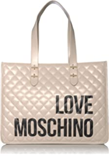 Love Moschino shopper logo embroidery: Amazon.it: Abbigliamento