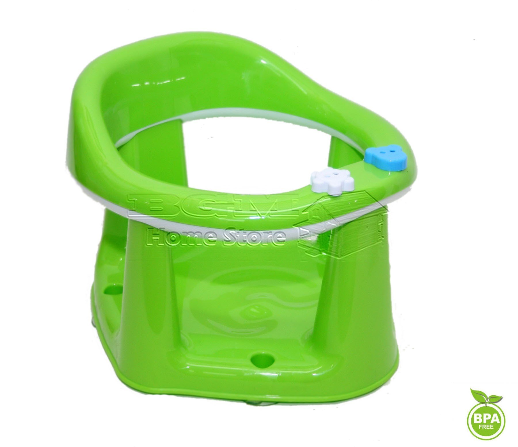Baby Toddler Child Bath Support Seat Safety Bathing Safe Dinning Play 3 In 1 MWR (GREEN)