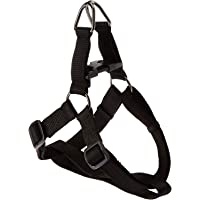 Pet Fab Adjustable Cross Body Harness/Body Belt for Dog (Black, Small)