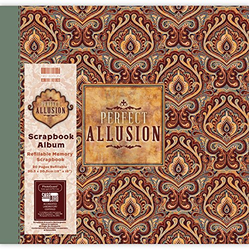 First Edition Perfect Allusion - Paisley Scrapbook Album 12
