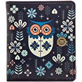 Chumbak Mini Flower owl Snap Button Wallet