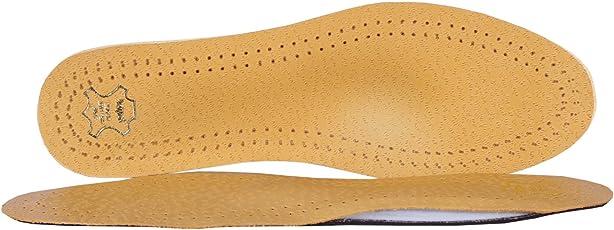 Kaps Einlegesohlen Master - Orthopädische Schuh Einlagen aus Leder - Verschiedene Größen
