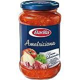 Barilla - Sugo all'Amatriciana - Salsa Pronta al Pomodoro con Pancetta, Cipolla e Peperoncino - 400 gr
