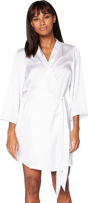 Marchio Amazon - Iris & Lilly Accappatoio a Kimono in Cotone Donna