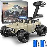 GizmoVine Coche Teledirigido , 4WD 40 KM / H 2,4 GHz Hobby Coche RC de Alta Velocidad Evitar Colisiones y Resistente al Agua